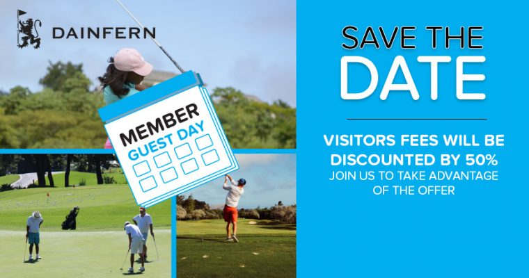 GOLF: MEMBER GUEST DAY: 8 SEPTEMBER 2017