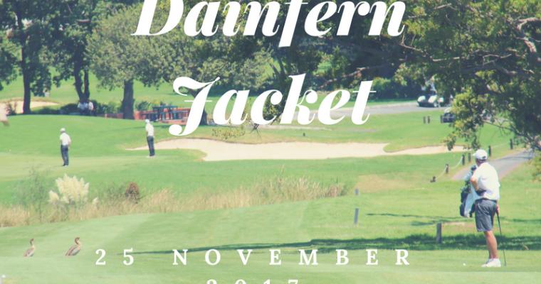DAINFERN JACKET: 25 NOVEMBER 2017