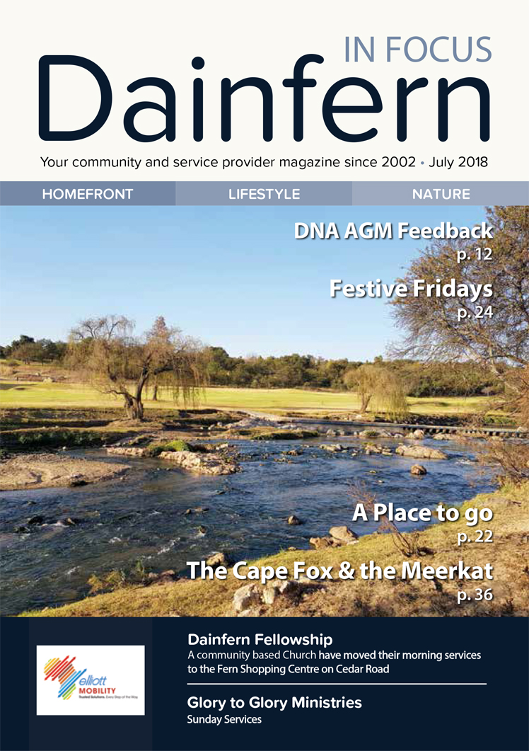 Infocus your community magazine – Dainfern Nature Association July 2018